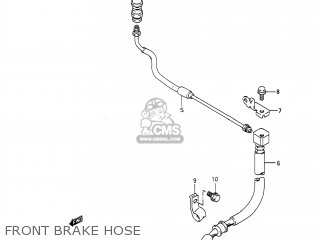 Suzuki DR650S 1991 (M) USA (E03) parts lists and schematics
