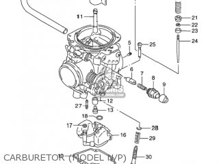 Suzuki Dr650se 1992 (n) Usa (e03) parts list partsmanual