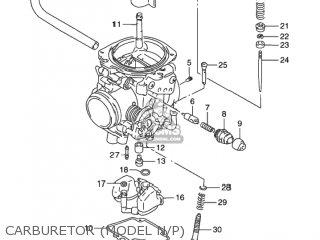 Suzuki DR650SE 1993 (P) USA (E03) parts lists and schematics