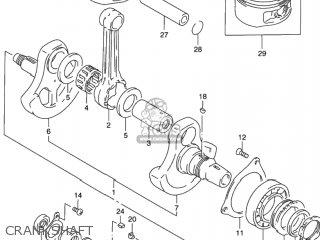 Suzuki DR650SE 1995 (S) USA (E03) parts lists and schematics