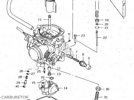 Huayi Carburetor Diagram, Huayi, Free Engine Image For