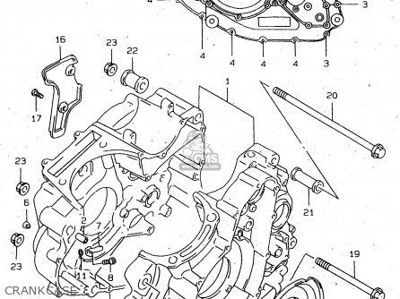Suzuki Dr650se 1996 (t) parts list partsmanual partsfiche