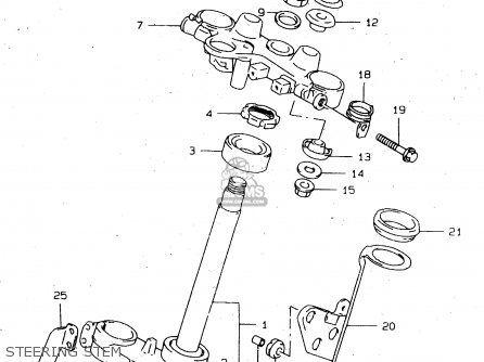 Suzuki DR650SE 1996 (T) (E02 E04 E17 E18 E22 E24 E34 E37