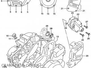 Suzuki DR650SE 1996 (T) USA (E03) parts lists and schematics