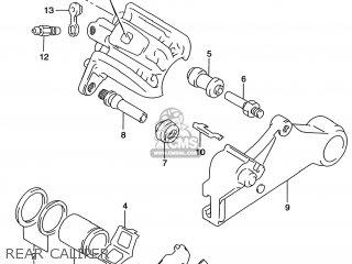 Suzuki DR650SE 1999 (X) USA (E03) parts lists and schematics