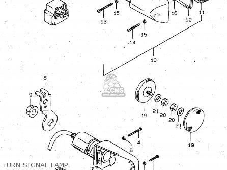 Suzuki Dr650se 2000 (y) parts list partsmanual partsfiche