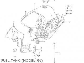 Suzuki DR650SE 2004 (K4) USA (E03) parts lists and schematics
