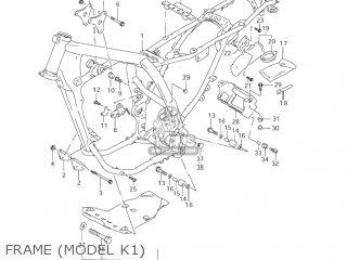 Suzuki DR650SE 2005 (K5) USA (E03) parts lists and schematics