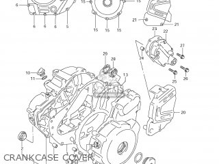 Suzuki Dr650se 2006 (k6) Usa (e03) parts list partsmanual