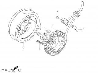 Suzuki Dr650se 2006 (k6) Usa (e03) parts list partsmanual