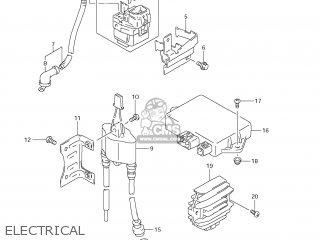Suzuki DR650SE 2009 (K9) USA (E03) parts lists and schematics
