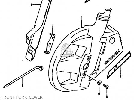 Suzuki DR750S 1988 (J) (E04 E18 E22 E34 E75 E77) parts