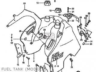 Suzuki Dr750su 1989 (k) Germany (e22) parts list