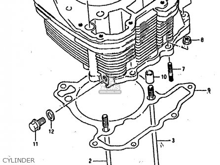 Suzuki Dr800 1990 (sl) parts list partsmanual partsfiche
