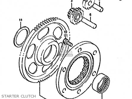 Suzuki Dr800 1991 (sm) parts list partsmanual partsfiche