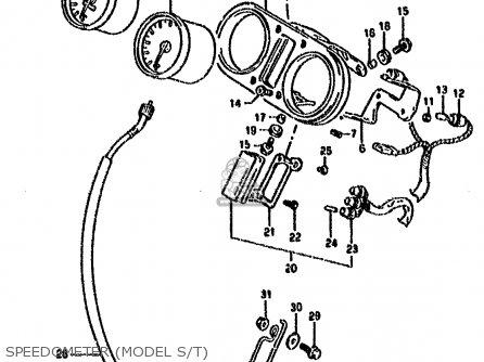 Suzuki Dr800 1993 (sup) parts list partsmanual partsfiche