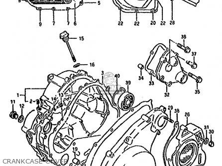 Suzuki Dr800 1994 (sur) parts list partsmanual partsfiche