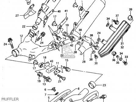 Suzuki Dr800 1997 (suv) parts list partsmanual partsfiche