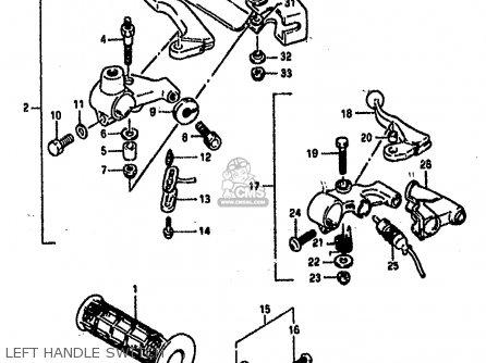Suzuki DR800S 1990 (L) (2 4 15 E16 E17 E18 E21 E22 E24 E25