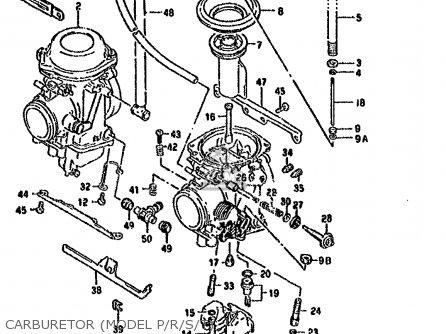 Suzuki Dr800s 1991 (m) (1 2 4 15 16 E17 E18 E21 E22 E24