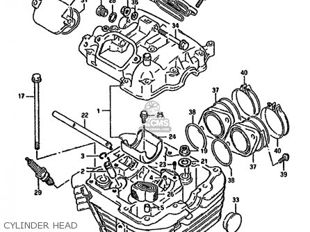 Suzuki Dr800s 1991 (m) parts list partsmanual partsfiche