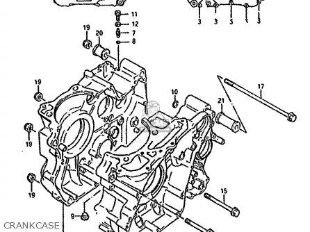 Suzuki DR800S 1994 (R) (E04 E18 E21 E22 E34 E53) parts