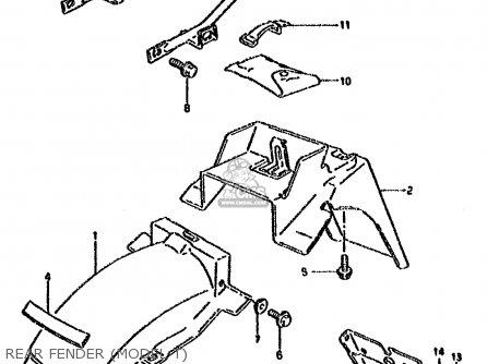 Suzuki Dr800su 1994 (r) Germany (e22) parts list