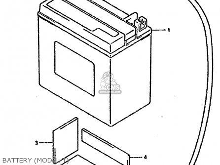 Suzuki DR800SU 1996 (T) GERMANY (E22) parts lists and
