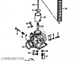 Suzuki Ds125 1979 (n) Usa (e03) parts list partsmanual