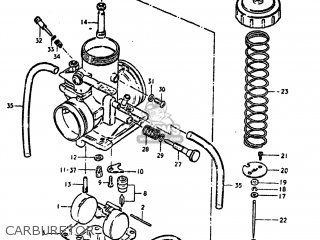 Suzuki Ds250 1980 (t) Usa (e03) parts list partsmanual