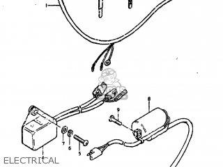 Suzuki Ds250 1980 (t) Usa (e03) parts list partsmanual