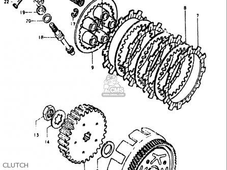 Suzuki Ds80 1978-1979 (usa) parts list partsmanual partsfiche