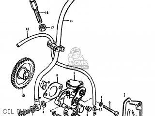 Suzuki DS80 1978 (C) USA (E03) parts lists and schematics