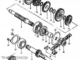 Suzuki Ds80 1978 (c) Usa (e03) parts list partsmanual