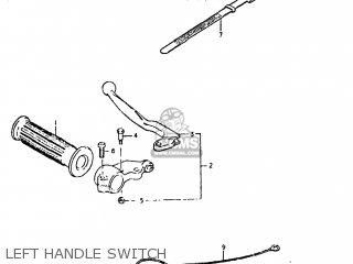 Suzuki DS80 1980 (T) USA (E03) parts lists and schematics