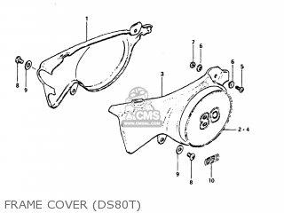 Suzuki Ds80 1981 (x) Usa (e03) parts list partsmanual