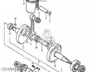 Suzuki DS80 1982 (Z) USA (E03) parts lists and schematics
