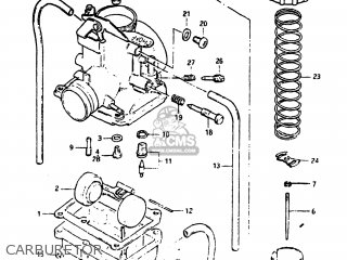 Suzuki DS80 1983 (D) USA (E03) parts lists and schematics
