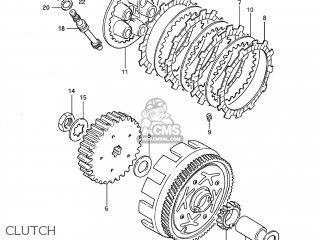 Suzuki DS80 1985 (F) USA (E03) parts lists and schematics