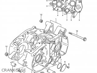 Suzuki DS80 1986 (G) USA (E03) parts lists and schematics
