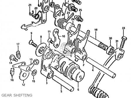 Suzuki DS80 1991 (M) parts lists and schematics