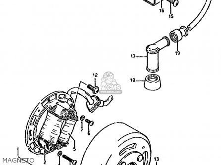 Suzuki DS80 1994 (R) parts lists and schematics