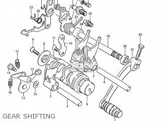 Suzuki DS80 1995 (S) USA (E03) parts lists and schematics