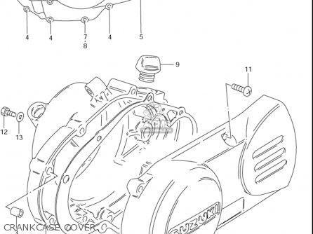 Suzuki Ds80 1996-2000 (usa) parts list partsmanual partsfiche