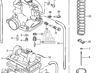 Suzuki Ds80 1996 (t) Usa (e03) parts list partsmanual
