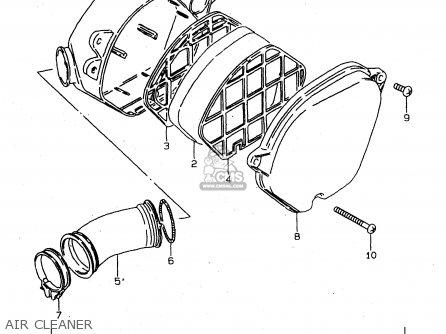 Suzuki Ds80 1999 (x) parts list partsmanual partsfiche