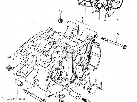 Suzuki DS80 1999 (X) USA CANADA (E03 E28) parts lists and