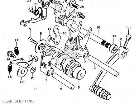 Suzuki Ds80 2000 (y) parts list partsmanual partsfiche