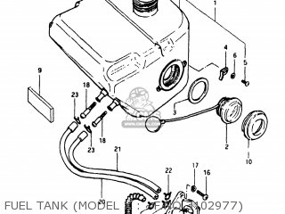 Suzuki FA50 1980 (T) USA (E03) parts lists and schematics