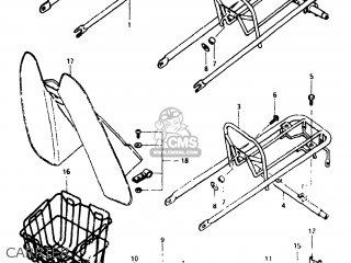 Suzuki FA50 1981 (X) USA (E03) parts lists and schematics